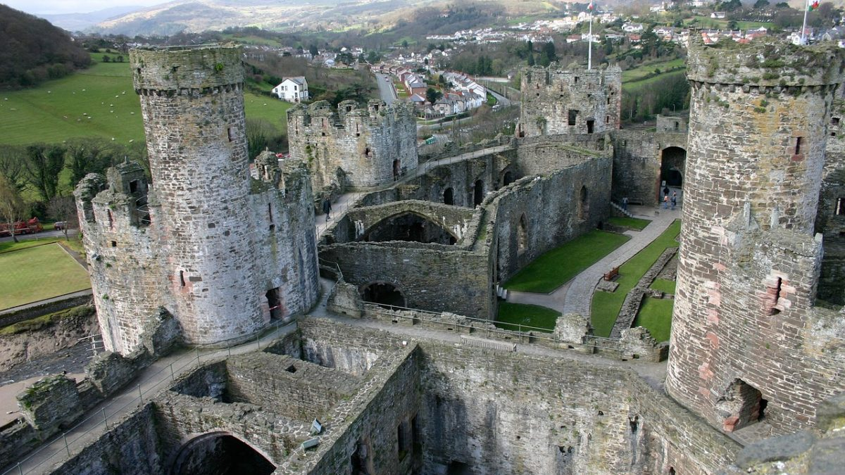 Castles in North Wales
