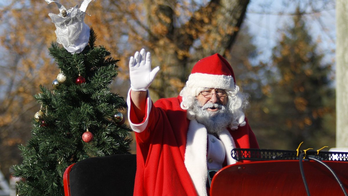 See Father Christmas around Caravan Parks in Abergele