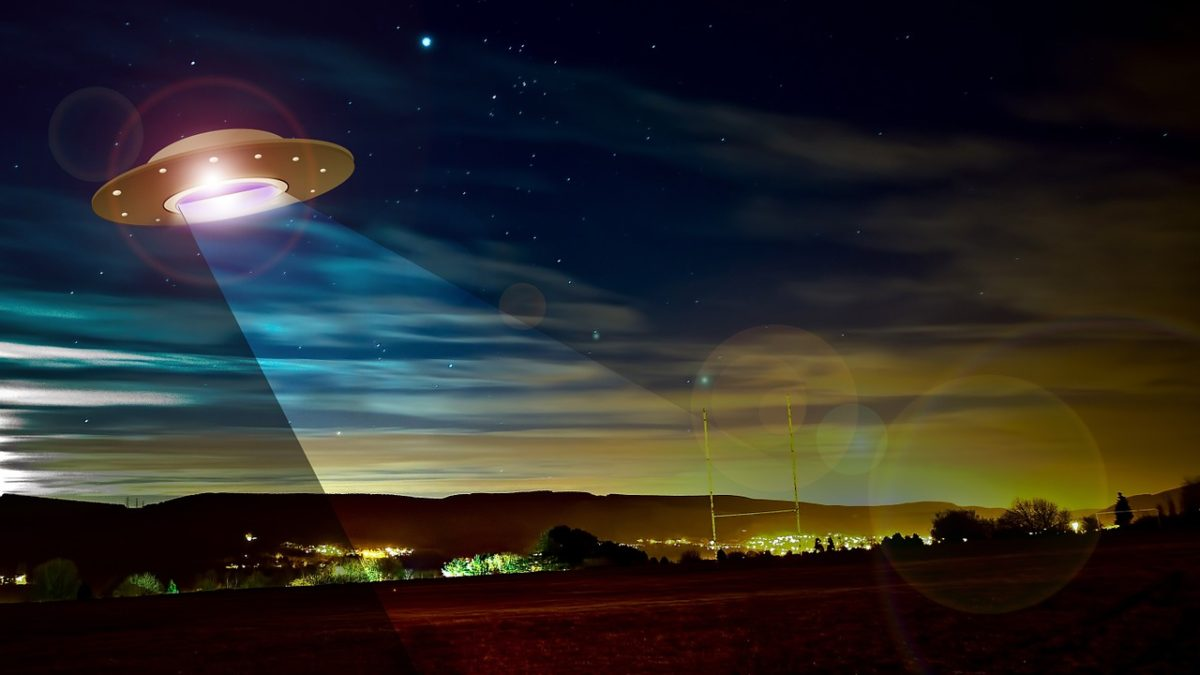 Hunting UFOs in Abergele